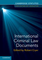 Couverture de l'ouvrage International Criminal Law Documents