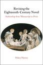 Couverture de l'ouvrage Revising the Eighteenth-Century Novel