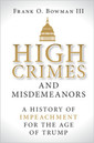 Couverture de l'ouvrage High Crimes and Misdemeanors