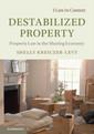 Couverture de l'ouvrage Destabilized Property