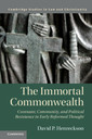 Couverture de l'ouvrage The Immortal Commonwealth
