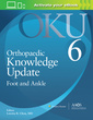 Couverture de l'ouvrage Orthopaedic Knowledge Update: Foot and Ankle 6: Print + Ebook with Multimedia