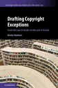 Couverture de l'ouvrage Drafting Copyright Exceptions