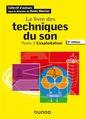 Couverture de l'ouvrage Le livre des techniques du son - Tome 3