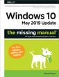 Couverture de l'ouvrage Windows 10 - May 2019 Update: The Missing Manual