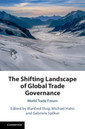 Couverture de l'ouvrage The Shifting Landscape of Global Trade Governance