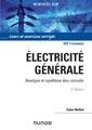 Couverture de l'ouvrage Électricité générale