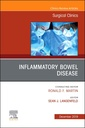 Couverture de l'ouvrage Inflammatory Bowel Disease, An Issue of Surgical Clinics