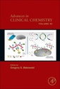 Couverture de l'ouvrage Advances in Clinical Chemistry