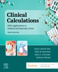 Couverture de l'ouvrage Clinical Calculations