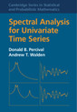 Couverture de l'ouvrage Spectral Analysis for Univariate Time Series