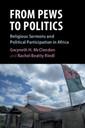 Couverture de l'ouvrage From Pews to Politics