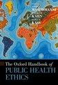 Couverture de l'ouvrage The Oxford Handbook of Public Health Ethics