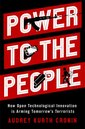 Couverture de l'ouvrage Power to the People