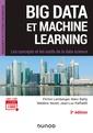 Couverture de l'ouvrage Big Data et Machine Learning