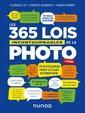 Couverture de l'ouvrage Les 365 lois incontournables de la photo - 2e ed.