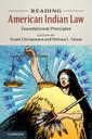 Couverture de l'ouvrage Reading American Indian Law
