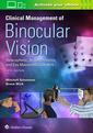 Couverture de l'ouvrage Clinical Management of Binocular Vision