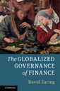 Couverture de l'ouvrage The Globalized Governance of Finance