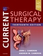Couverture de l'ouvrage Current Surgical Therapy