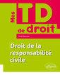 Couverture de l'ouvrage Droit de la responsabilite civile