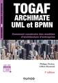 Couverture de l'ouvrage TOGAF, Archimate, UML et BPMN