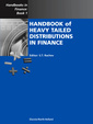 Couverture de l'ouvrage Handbook of Heavy Tailed Distributions in Finance