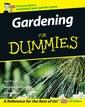 Couverture de l'ouvrage Gardening for dummies