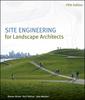Couverture de l'ouvrage Site engineering for landscape architects: web site
