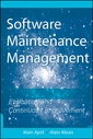 Couverture de l'ouvrage Software maintenance management : evaluation & continuous improvement