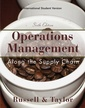 Couverture de l'ouvrage Operations and supply chain management, 6th edition
