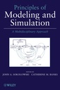 Couverture de l'ouvrage Principles of modeling and simulation: a multidisciplinary approach