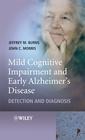 Couverture de l'ouvrage Mild cognitive impairment & early Alzheimer's diseases: detection & diagnosis