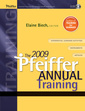Couverture de l'ouvrage The 2009 pfeiffer annual: training