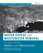 Couverture de l'ouvrage Water supply and distribution and wastewater collection (hardback)