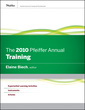 Couverture de l'ouvrage The 2010 pfeiffer annual: training