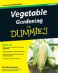 Couverture de l'ouvrage Vegetable gardening for dummies&reg, (paperback)