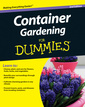 Couverture de l'ouvrage Container gardening for dummies&reg, (paperback)