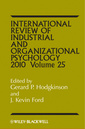 Couverture de l'ouvrage International review of industrial and organizational psychology 2010: volume 25 (hardback)