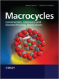 Couverture de l'ouvrage Macrocycles: construction, chemistry and nanotechnology applications (paperback)
