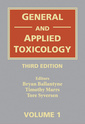Couverture de l'ouvrage General & applied toxicology (6 Volume set)