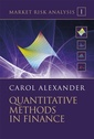 Couverture de l'ouvrage Market risk analysis. Volume 1: Methods in finance (with CD-ROM)