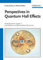 Couverture de l'ouvrage Perspectives in quantum hall effects: novel quantum liquids in low dimensional semiconductor structures