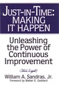 Couverture de l'ouvrage Just in time : making it happen, unleash ing the power of continuous improvement