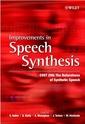 Couverture de l'ouvrage Improvements in speech synthesis
