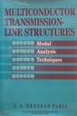Couverture de l'ouvrage Multiconductor transmission line structure: modal analysis techniques
