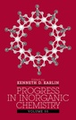 Couverture de l'ouvrage Progress in inorganic chemistry, Vol 55