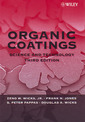Couverture de l'ouvrage Organic coatings: Science & technology