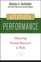 Couverture de l'ouvrage Ultimate performance : measuring human resources at work