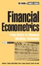 Couverture de l'ouvrage Financial econometrics : from basics to advanced modeling techniques